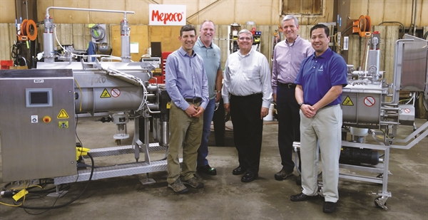 Mepaco, part of Apache Stainless, Donates New Equipment to UW Meat Science Lab