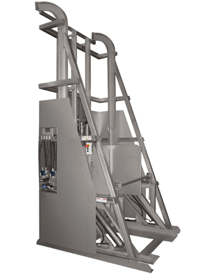 LD3000 Lift & Dump Industrial Dumper – meat processing equipment