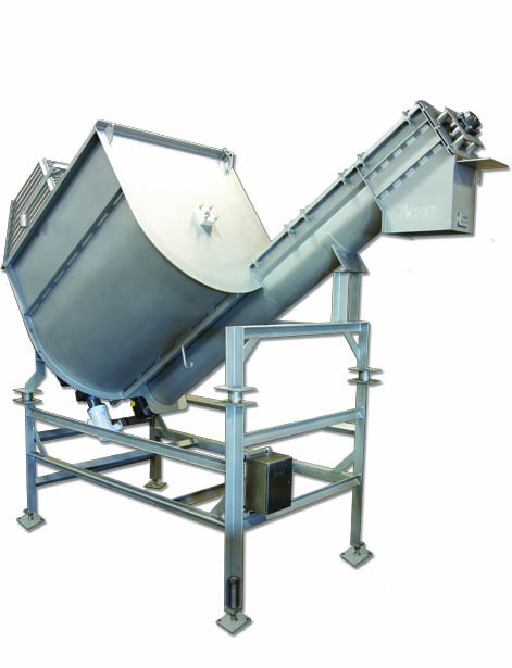 Screw Augers And Screw Conveyor Systems For Food Processing