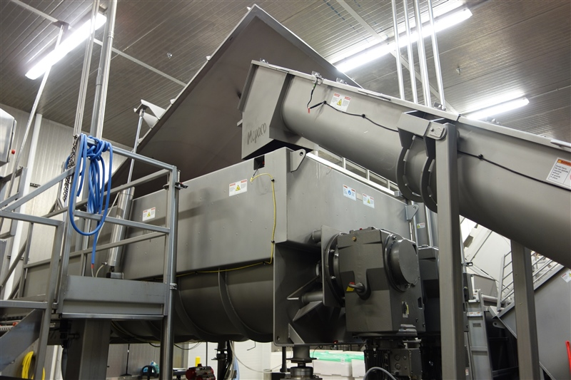 Industrial Food Mixer Blender Equipment from Mepaco