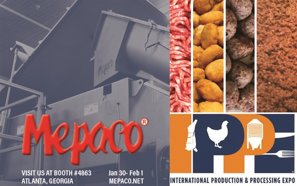 Mepaco is Exhibiting at IPPE, Booth #4853