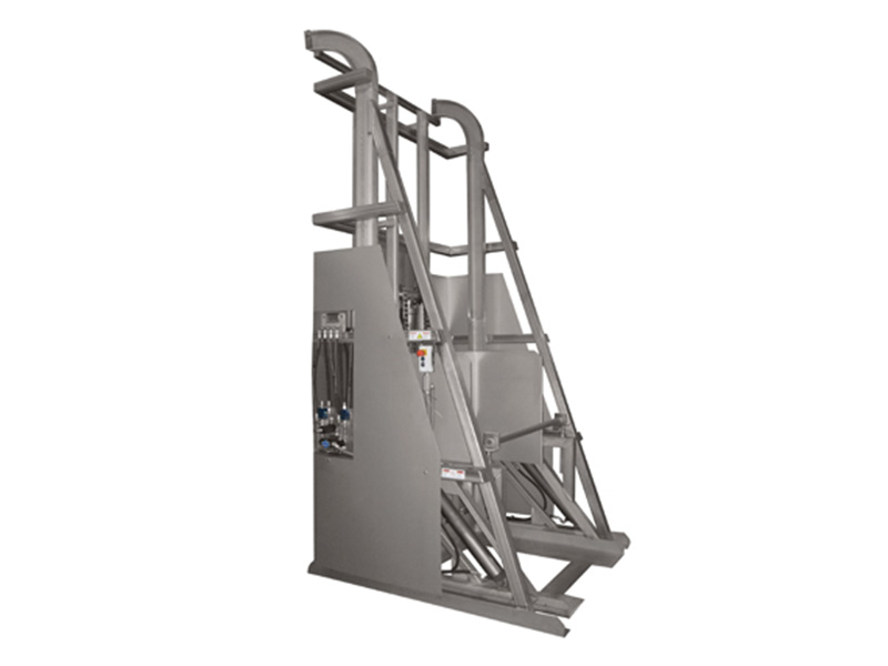 Industrial Material Handling Lifting Equipment : Dumpers material handling equipment for food processing