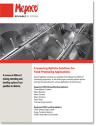 Comparing Agitator Solutions for Food Processing Applications
