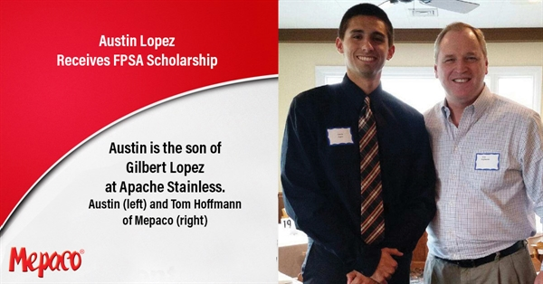 Austin Lopez Receives FPSA Scholarship