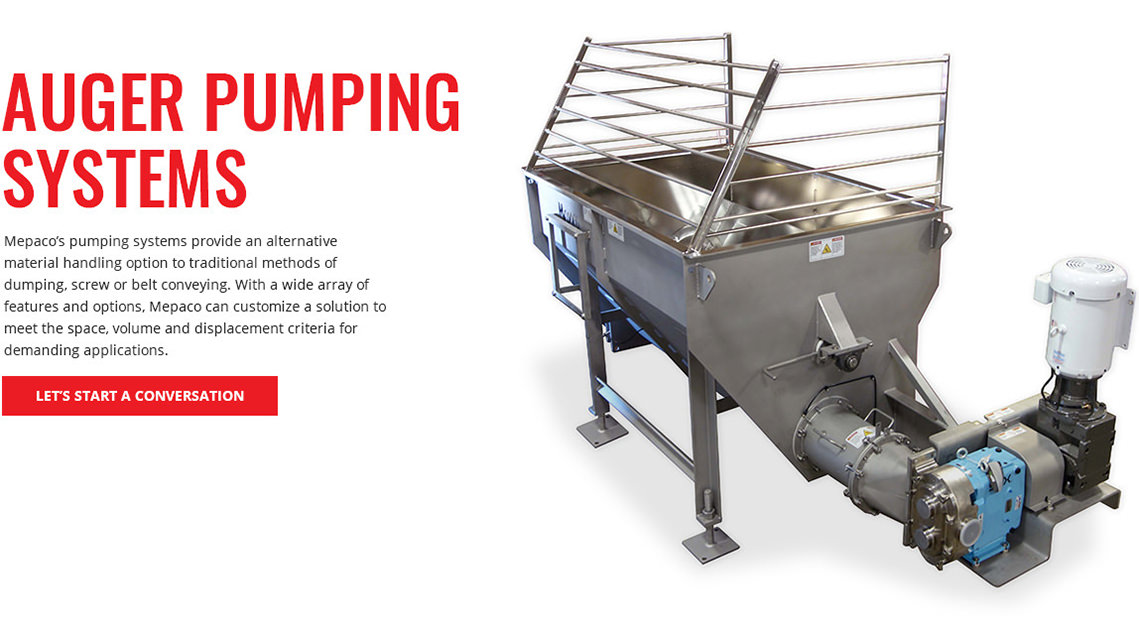 Auger Pumping Systems