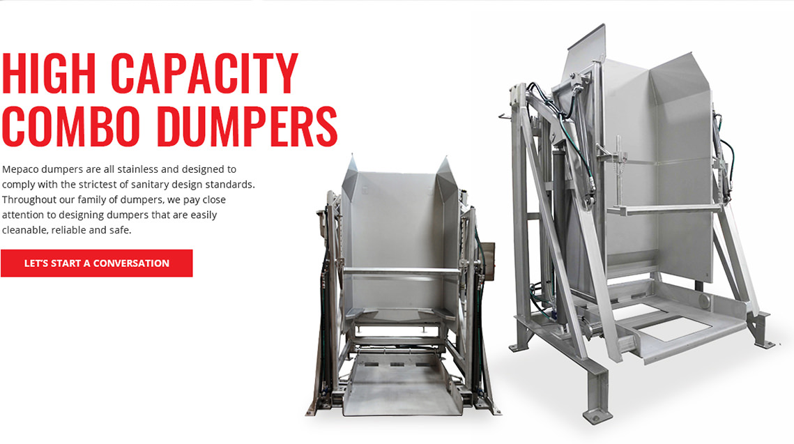 High Capacity Combo Dumpers